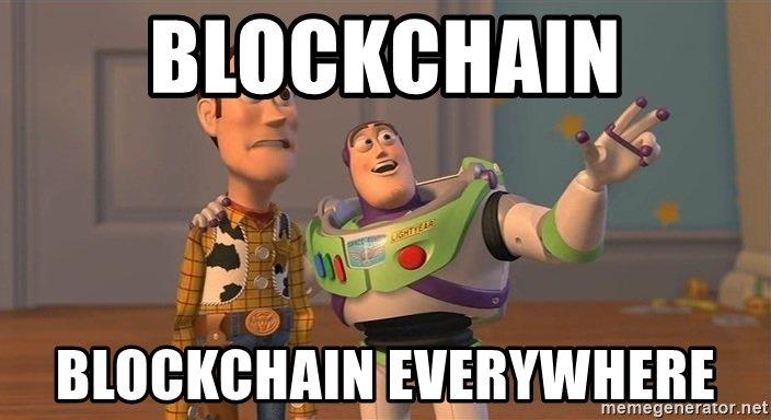 Blockchain, wszędzie blockchain...