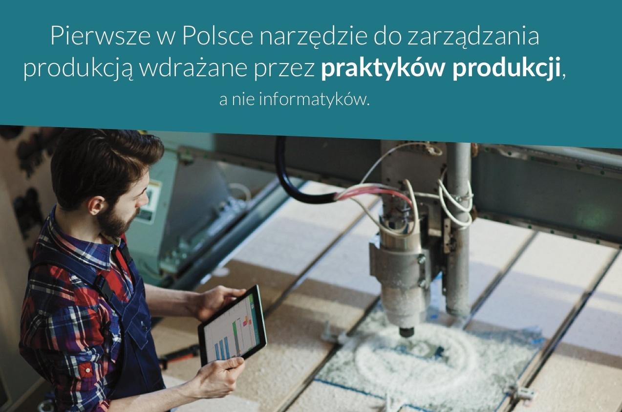 Polskie rozwiązanie MES do świadomego zarządzania produkcją